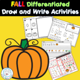 Differentiated Directed Draw and Writing Activities K  1st
