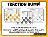 Dividing Unit Fractions and Whole Numbers & Fractions as D