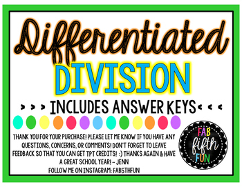 Differentiated Division