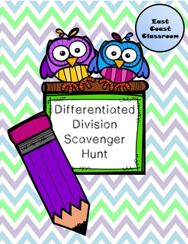 Differentiated Division Scavenger Hunt