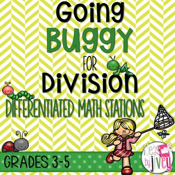 Division Differentiated Stations for Math Workshop: Going