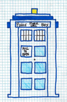 Differentiated Doctor Who Mystery Picture