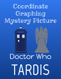 Coordinate Grid Doctor Who Mystery Picture (1 and 4 Quadrant)