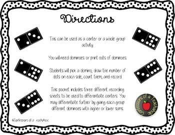 Differentiated Domino Addition Center
