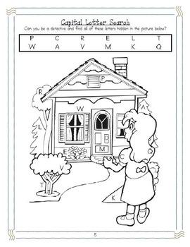Differentiated ELA Books for Kindergarten, #1: Goldilocks and the Three Bears