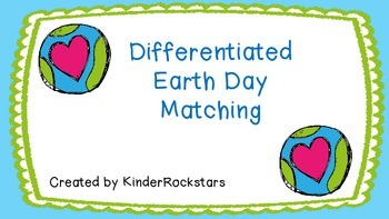 Differentiated Earth Day Matching