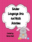 Differentiated Easter Language Arts and Math Activity Pack