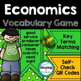 Economics Vocabulary Game with QR Codes