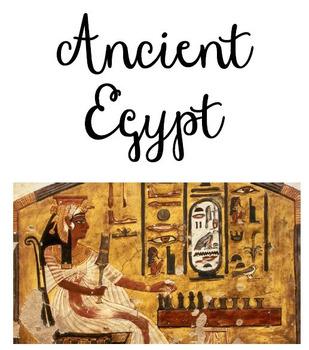 Differentiated Egypt Workbook