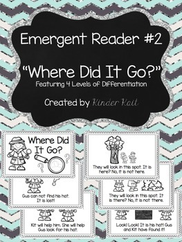 Differentiated Emergent Reader #2