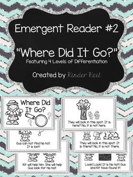 Differentiated Emergent Reader #2