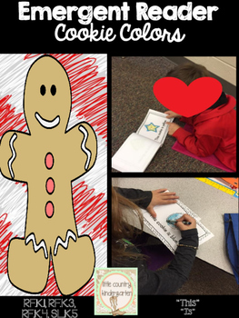 Differentiated Emergent Reader: Christmas Cookies, Focus W