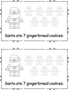 Differentiated Emergent Readers - Cookies for Santa