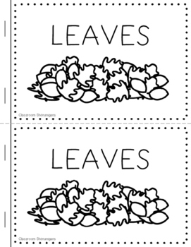 Differentiated Emergent Readers - November Thanksgiving Pack
