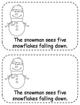 Differentiated EmergentReaders - The Falling Snowflakes (7 versions!)