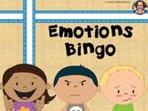 Easy Prep Differentiated Emotions Feelings Bingo