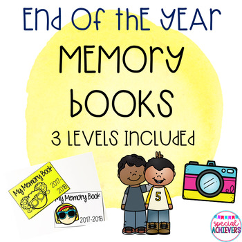 Differentiated End of the Year Memory Book