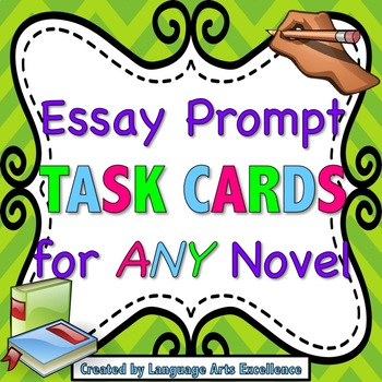 Differentiated Essay Prompt Task Cards