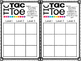 Differentiated Exit Ticket Template