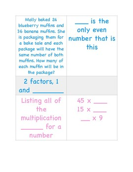 Differentiated Factor/Multiple Centers