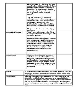Differentiated Factoring Scripted Lesson Plan
