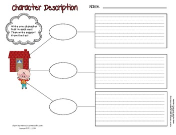 Differentiated Fairy Tale Character Study