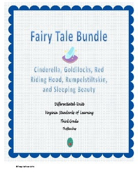 Differentiated Fairy Tales Bundle for Virginia Standards o