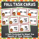 Differentiated Fall Math Task Cards - Addition and Subtraction