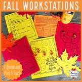 Differentiated Fall Reading Workstations