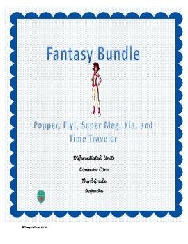 Differentiated Fantasy Bundle for Common Core