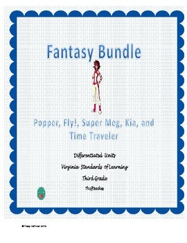 Differentiated Fantasy Bundle for Virginia Standards of Learning