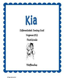 "Differentiated Fantasy Unit ""Kia!"" Virginia SOLS"