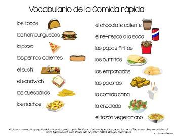 Differentiated Fast Food Interview Project ~ Entrevista de Comida Rápida