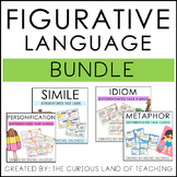 Differentiated Figurative Language Task Cards Bundle