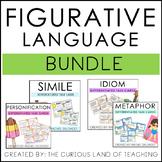 Differentiated Figurative Language Task Cards Bundle