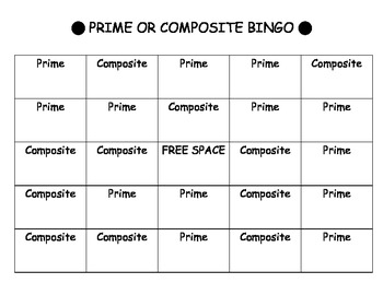 Differentiated File Folder CCSS Games - Factors, Multiples, Square, Prime