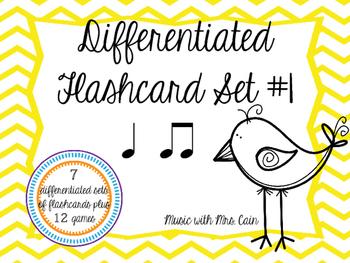 Differentiated Flashcard Set - Ta & Ta-ti