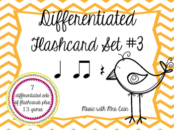 Differentiated Flashcards - Quarter Rest