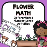 Differentiated Flower Spring Number Sense Math for Prescho