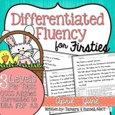 First Grade Fluency {April - June}