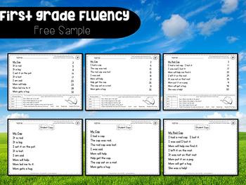 First Grade Fluency {August - November}
