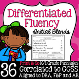 Kindergarten Fluency: Initial Blends Pack