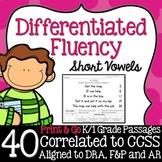 Kindergarten Fluency: Short Vowel Pack