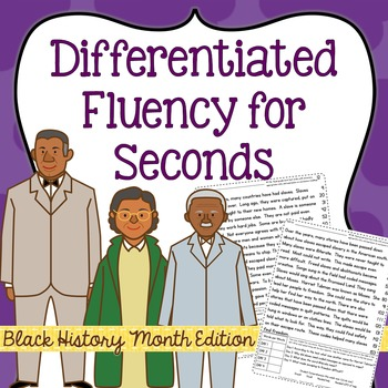 Second Grade Fluency: Black History Month