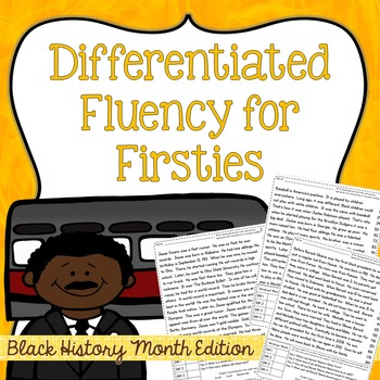 First Grade Fluency: Bridge The Gap{BLACK HISTORY MONTH EDITION}