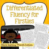 First Grade Fluency: Bridge The Gap{BLACK HISTORY MONTH EDITION}
