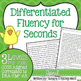 Second Grade Fluency: April Edition