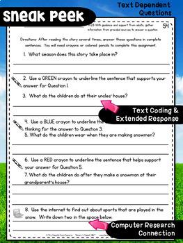 Second Grade Fluency: December Edition
