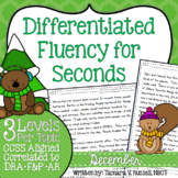 Second Grade Fluency: December Edition