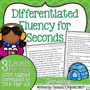 Second Grade Fluency: January Edition